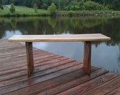 Natural shape Cedar Bench/Coffee Table