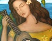 Set of 4 - Hawaiian Art Print, 8x10, Inventory Sale