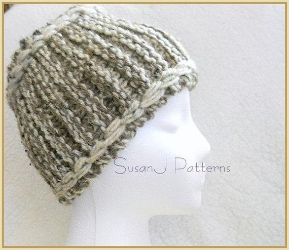 Winter Headband Knitting Pattern : Knitting Pattern Thick Winter Headband