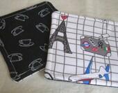Travel Fabric Coasters - Tea Lovers Teacup Size