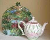 Scenic Nature Fabric Teapot Cozy