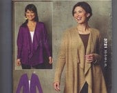 JANUARY SALE!!! Kwik Sew Pattern 3721 Misses' Cardigans