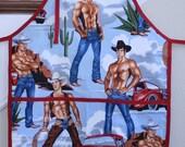 Cowboy Apron ( Hot Cowboys)