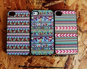 3 Original Native Tribal Apple Iphone 4 / 4s Hard Case Pattern Hipster Aztec