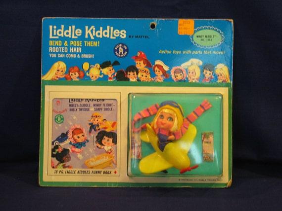 1966 Liddle Kiddle  Windy Fliddle MIB Mint in Box