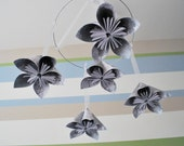 Silver Flower Mobile
