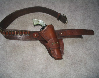 Mexican Style Holster & Belt