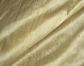 "Buttercreme dupioni silk - 54"" wide"