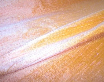 "Coral Mist dupioni silk - 54"" wide"