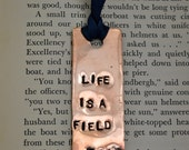 Field trip anyone. Life is a field trip copper bookmark.
