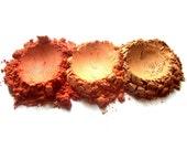 3pc WARM SUNSET Mineral Blush Set