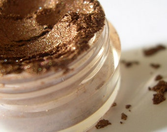 50% off Christmas in July | BRONZE Mineral Eye Shadow Makeup Eye Color Pigment