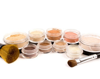 50% off Christmas in July | GETTING STARTED 12pc Mineral Makeup Kit - Full Sizes - CUSTOMIZE