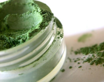 50% off Christmas in July | SUN-KISSED KELP Mineral Eye shadow Makeup Eye Color Pigment