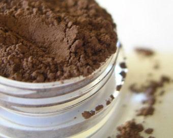 DARK TRUFFLE - Eyeshadow Mineral Makeup - Natural Vegan Mineral Eye Color