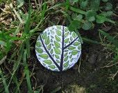 Spring tree badge - Pin árvore primavera