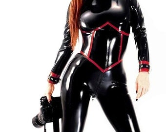 Dilecta Latex Catsuit