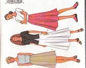Butterick 3134 Sewing Pattern Skirt Patterns Size 14-16-18 Three Styles to Choose