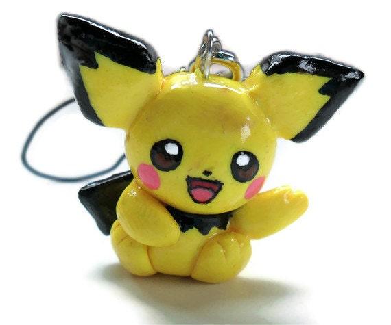 Kawaii Pichu Charm (from Pokemon), cute & kawaii