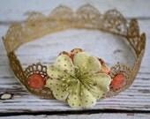 Garden Princess Baby / Kid Crown / Tiara Photography Prop