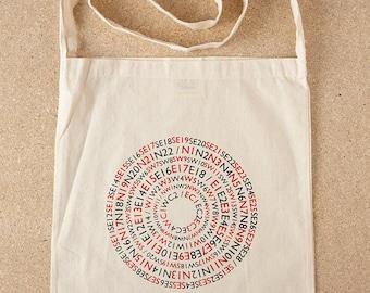 Postcode Lottery Tote Bag / London Tote Bag, London Postcodes, Postcode Tote Bag, Graphic Tote, Screenprint Tote, London Bag, London