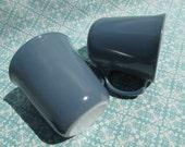 Pyrex Slate Blue Mug Set