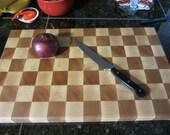 Solid Hardwood Cutting Board/ Butcher Block.