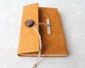 Handmade Paper Pocket Notebook Journal Eco Friendly Lokta paper hard cover Diary