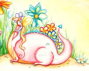 Dragon Love Card
