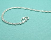 Sterling Silver Ball chain 18 inches
