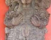 Mahogany Replica of Stelae 5
