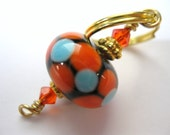 ORIGINAL HANDMADE BEADED Keyring /  Handbag charm