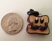 French Toast Charm (Handmade, Polymer Clay)
