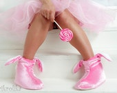 Pink bunny slippers Women