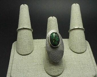 Gemstone Textured Stacking Rings Savanah Ga SCAD Grad