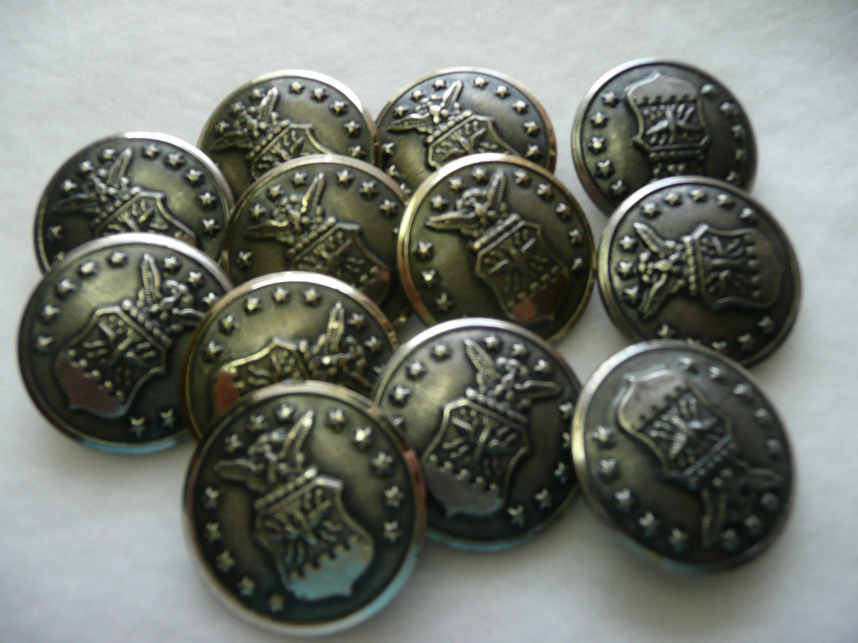 Military Coat Buttons - Sm Coats