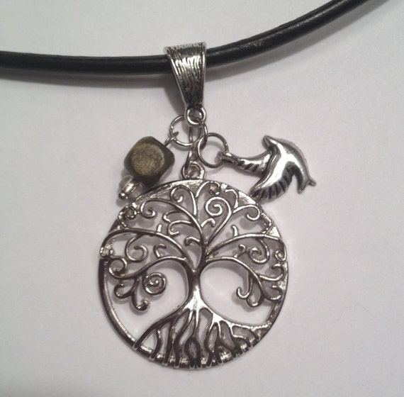 World of Warcraft Inspired Tree of Life Night Elf Necklace