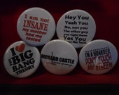 Funny TV quotes  Buttons
