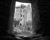 Blarney Castle - Ireland - Photography Black and White Art