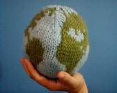 Handmade Knitted Earth Ball/Toy