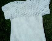 Custom-Made Crochet Lacy Tee