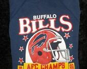 VIntage Buffalo Bills 1988 AFC East Champs Sweatshirt