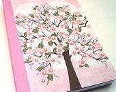 Bound Journal (Cherry Blossom Tree) Shabby Chic