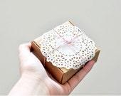 Square Kraft Box x 5