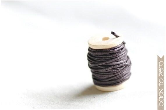 Wax Cotton Twine - Brown