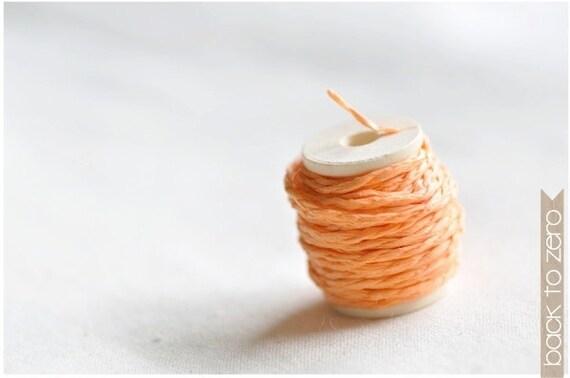 Paper Twine - Light Orange