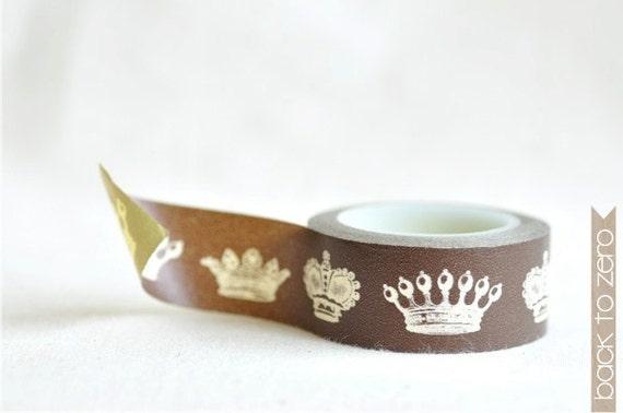 Washi Tape -  Crown