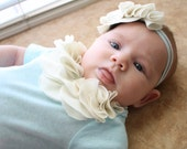 Ruffle Baby Girl Onesie Bodysuit, Special Occasion, photo shoot, wedding flower girl