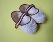Children's Crochet Shoes