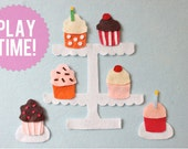 Cupcake Activity Felt Board Set